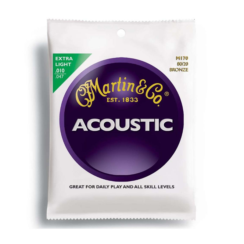Martin Acoustic Extra Light .010/.047 M170