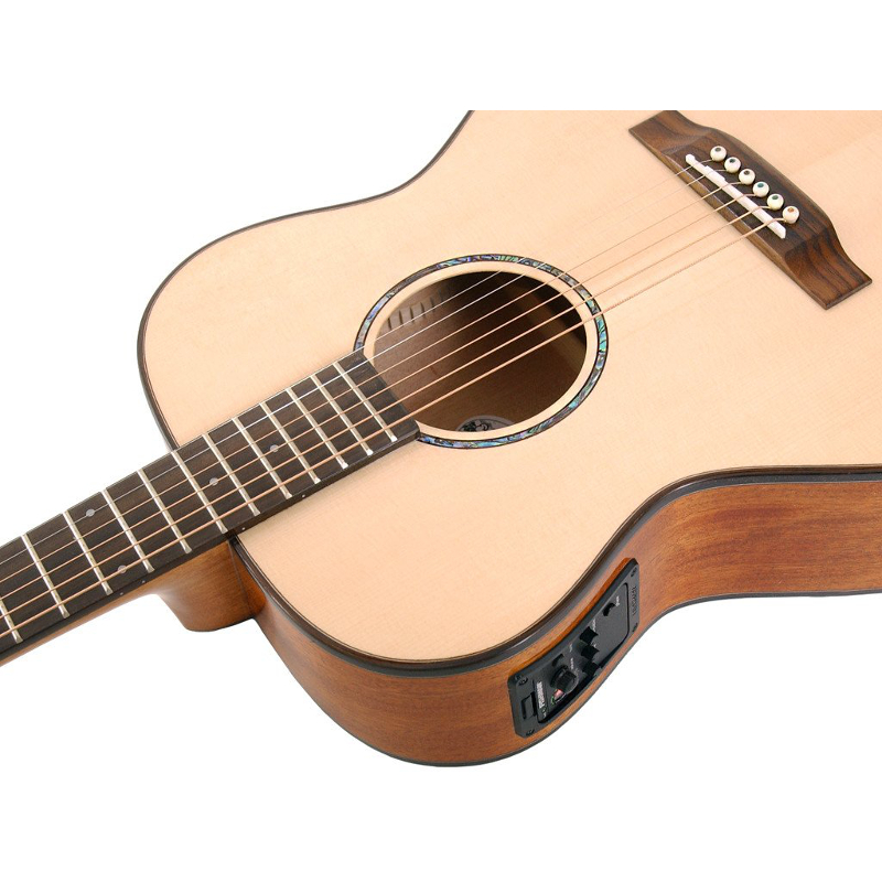 ozark 3850 small body acoustic guitar music store online. Black Bedroom Furniture Sets. Home Design Ideas