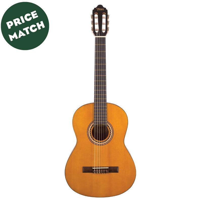 Valencia vc203h 3 4 narrow neck classical guitar music for Luthier valencia