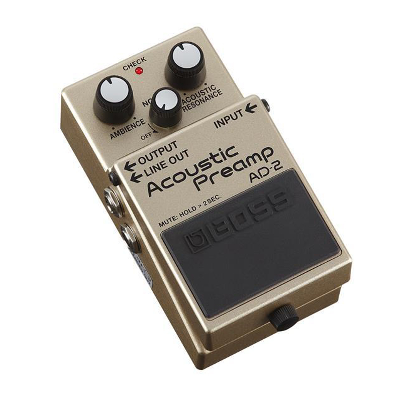 boss ad 2 acoustic preamp pedal music store online. Black Bedroom Furniture Sets. Home Design Ideas